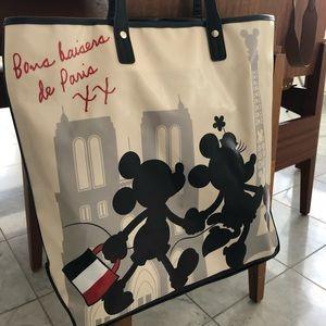 Mickey & Minnie tote